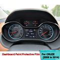 Car-Styling Dashboard Protective Film For Chevrolet Cruze 2009 to 2014 4H Scratchproof 99% Light Transmitting Car Accessories