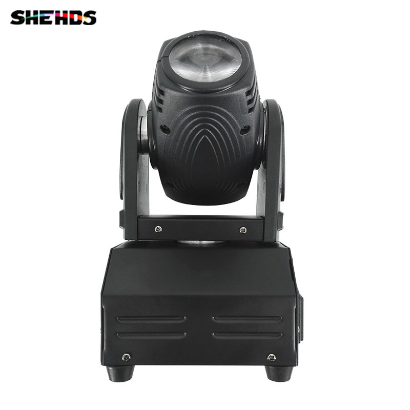 HOT/Eyourlife 10W LED Stage DJ Lighting Moving Head DMX 512 High Power Light with Professional for Party KTV Disco DJ
