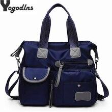 Универсальный чемодан сумки для женщин большой карман повседневное Tote нейлон водонепроница Crossbody Сумки на плече Bolsa Feminina