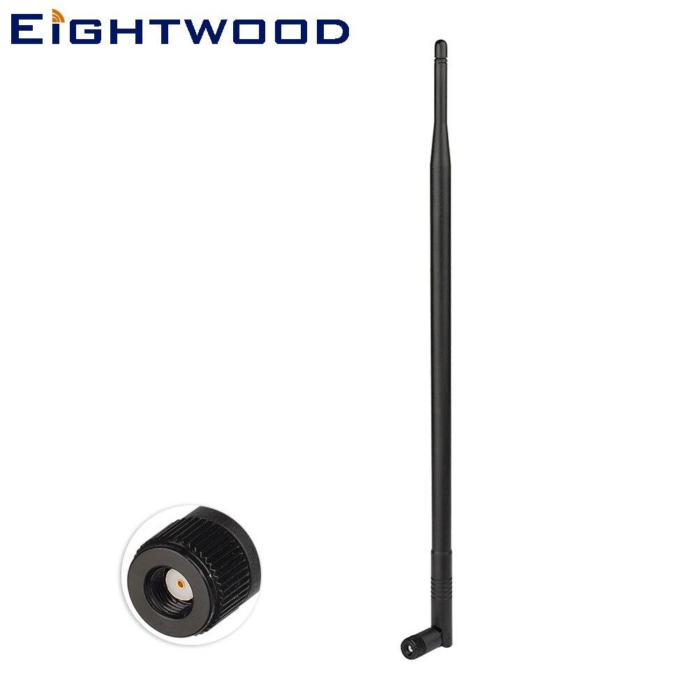 Eightwood 2.4 ghz 12dbi omni antena wifi com RP-SMA macho compatível com f5d8235 rincuv4 n300 n450 n600 ieee 802.11b