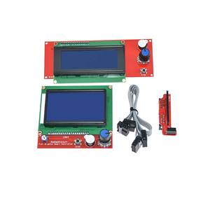 Image 2 - 1pc RAMPS 1.4 LCD 12864 Ramps Smart Parts Controller Control Panel LCD 12864/2004 Display Monitor Motherboard Blue Screen Module