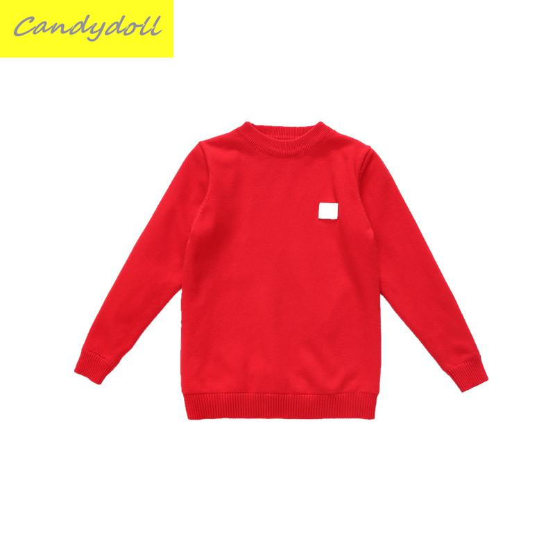 New arrival Girls With Cashmere Sweater Winter New Kids Children Sweater T-shirt Sweater Thick Pure Child Girls Sweater 5-9Y charter club new purple cashmere crew neck sweater msrp $129 00