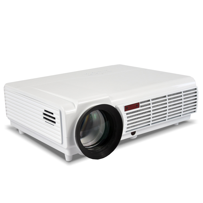 5500lumens smart android4 4 wifi lcd tv led projector full for Projector tv reviews