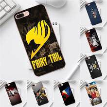 Qdowpz Anime Naruto One Piece Bleach Fairy Tail Para o iphone X XS Max XR 4 4S 5 5C SE 6 6 s 7 8 Além Disso Galaxy A3 A5 J1 J3 J5 J7 2017(China)