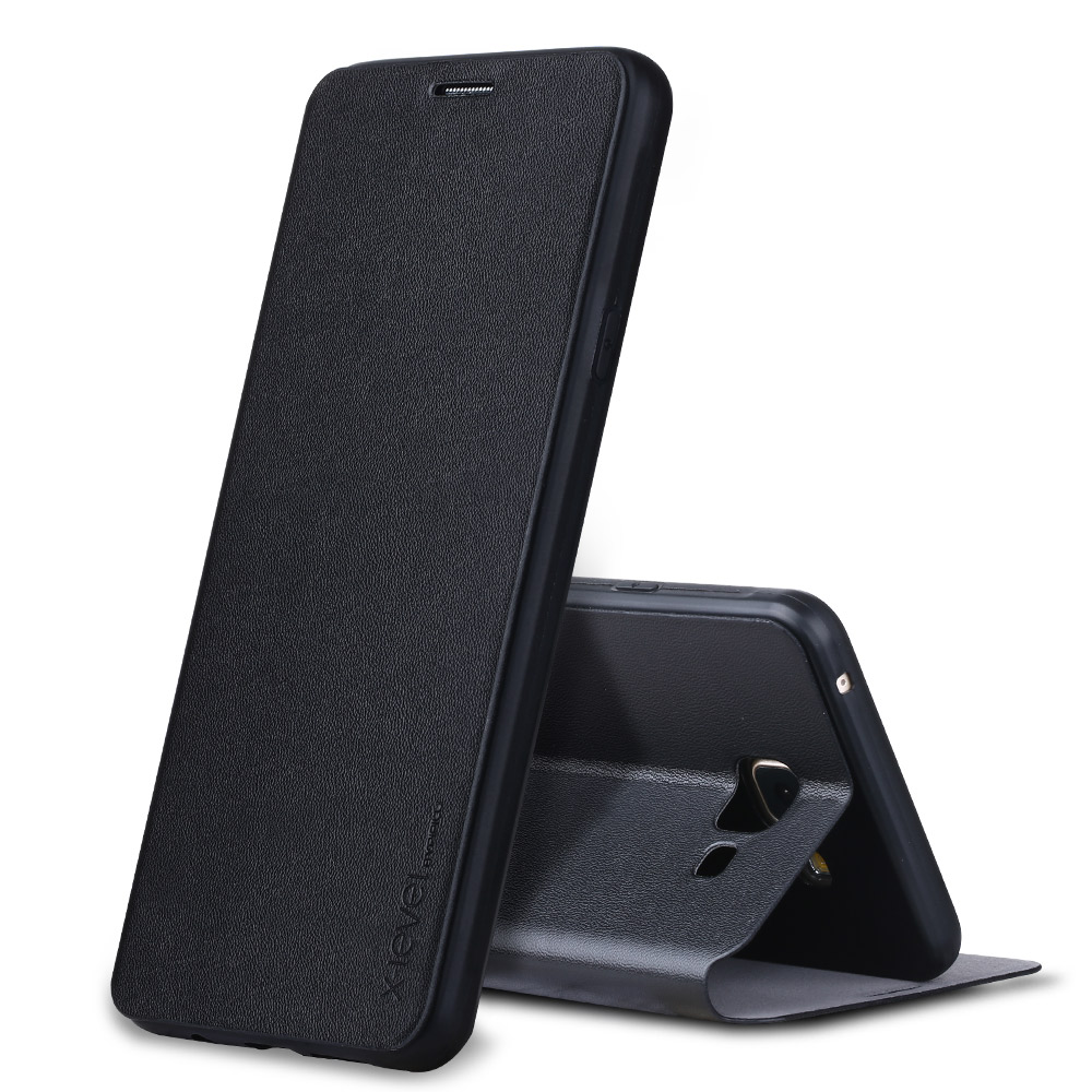 X-Level FIB Luxury PU Leather Flip Cover for Samsung Galaxy A3 A5 A7 2017 A510 A310 A710 2016 Bussiness Book Style Case fundas
