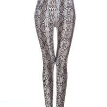 lady animal patten legging tiger leopard snake printed leggings ankle slim punk pant girl fashion 9