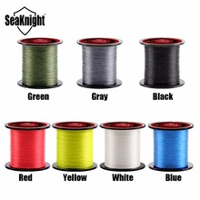 SeaKnight Brand TriPoseidon Series 300M 330Yards PE Braided Fishing Line 4 Strands 8 10 20 30 40 60LB Multifilament Fishing Line