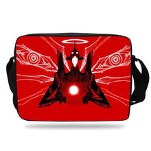 Neon Genesis Evangelion Anime School Bags For Teenage Girls Crossbody Bags Children Messenger Bag Boys Shoulder Bag