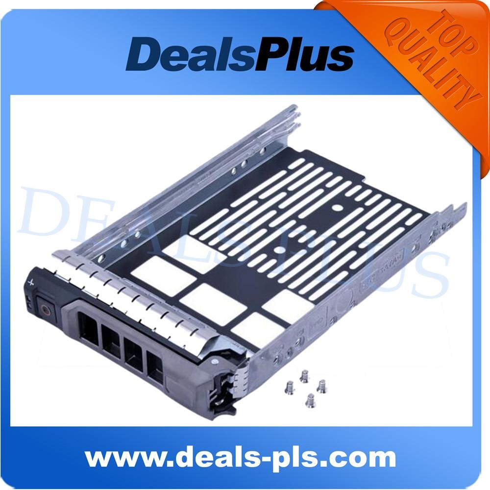 חדש 3.5 '' SAS סידורי SCSI SATA HDD מגש Caddy F238F - כבלים למחשב ומחברים