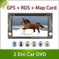 Новый 2din Игрок Автомобиля DVD GPS Двойной Радио Стерео Dash MP3 Автомагнитолы CD Камеры парковки 2DIN HD TV (опционально) радио Видео Аудио