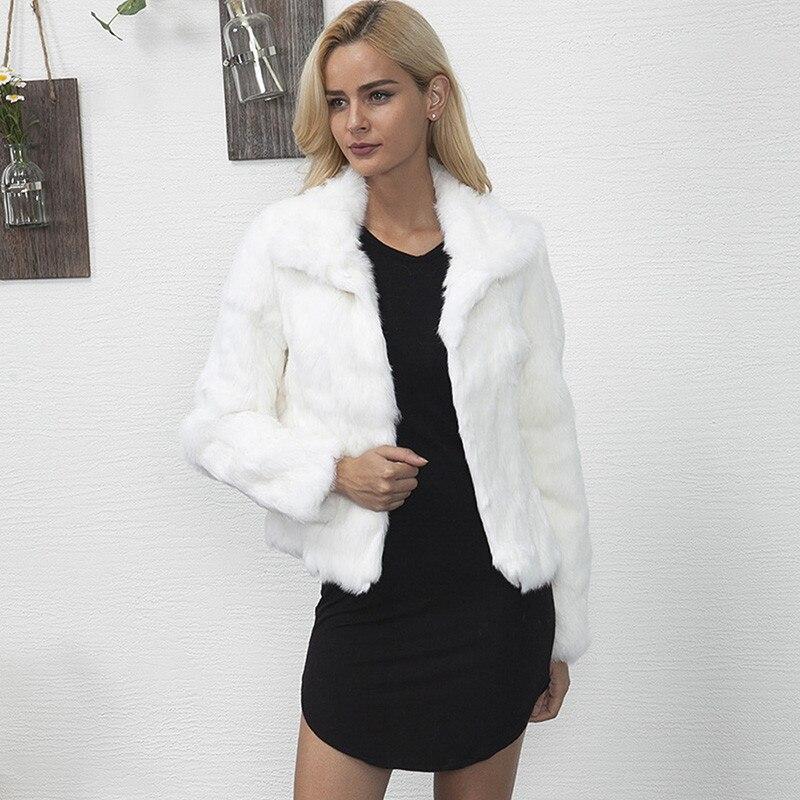 Hirsionsan Faux Fur Coat Women 2017 Autumn Winter Furry Fluffy ...