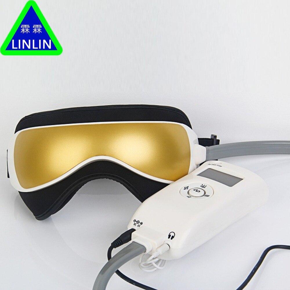 LINLIN Gustala ciśnienia powietrza masażer okolic oczu z MP3 6 funkcji rozwiać worki pod oczami oko magnetyczny dalekiej podczerwieni ciepła darmowa wysyłka w Masaż i relaks od Uroda i zdrowie na  Grupa 3