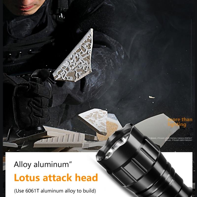 5000lm xm l q5 t6 led arma luz 04