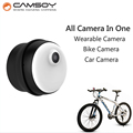 Wearable Mini Camera CAMSOY M1 Bike Micro Camera Internal 8GB Memory 720P HD Body Camera Non-button Design Mini DV DVR Camera