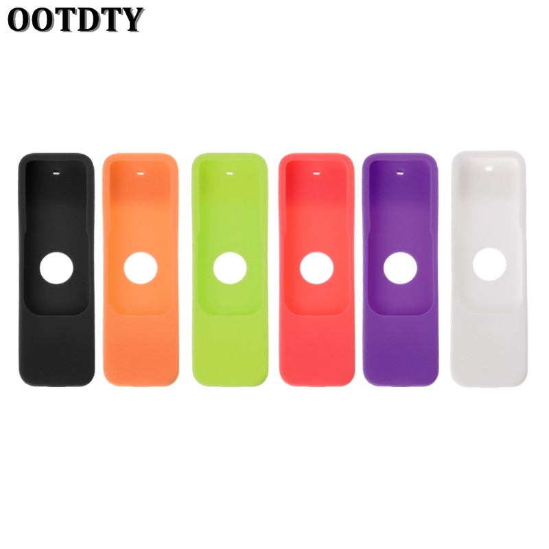 OOTDTY Silicone Case Rubber Dust-Proof Protective Cover Skin Case for Apple TV 4th Remote Control Controller