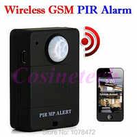 ¡Barato mini inalámbrico A9 PIR MP! alerta Sensor PIR Detector de movimiento Anti-robo GSM sistema de alarma Monitor Control remoto Dropshipping