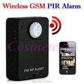 Cheap mini Wireless A9 PIR MP.ALERT PIR Sensor Motion Detector Anti-theft GSM Alarm System Monitor Remote Control Dropshipping