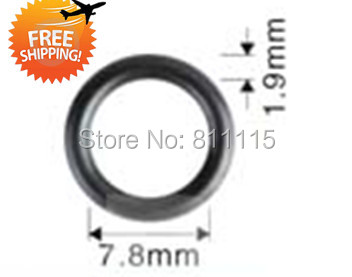 Fuel Injector Oring 7 8x1 9mm 500pcs free shipping Injector Rubber O rings Repair Kits Viton