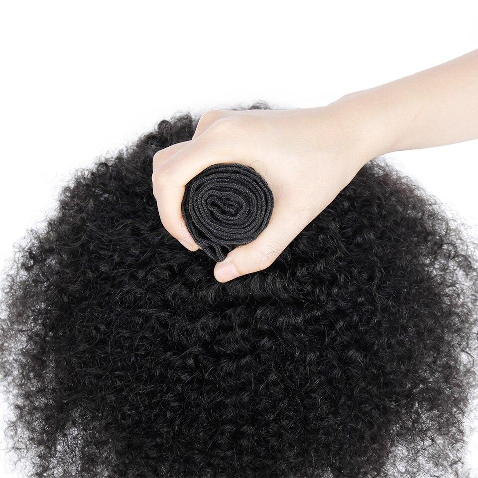 YVONNE Βραζιλιάνικες Μαλλιές Μαλλιών - Ανθρώπινα μαλλιά (για μαύρο) - Φωτογραφία 5