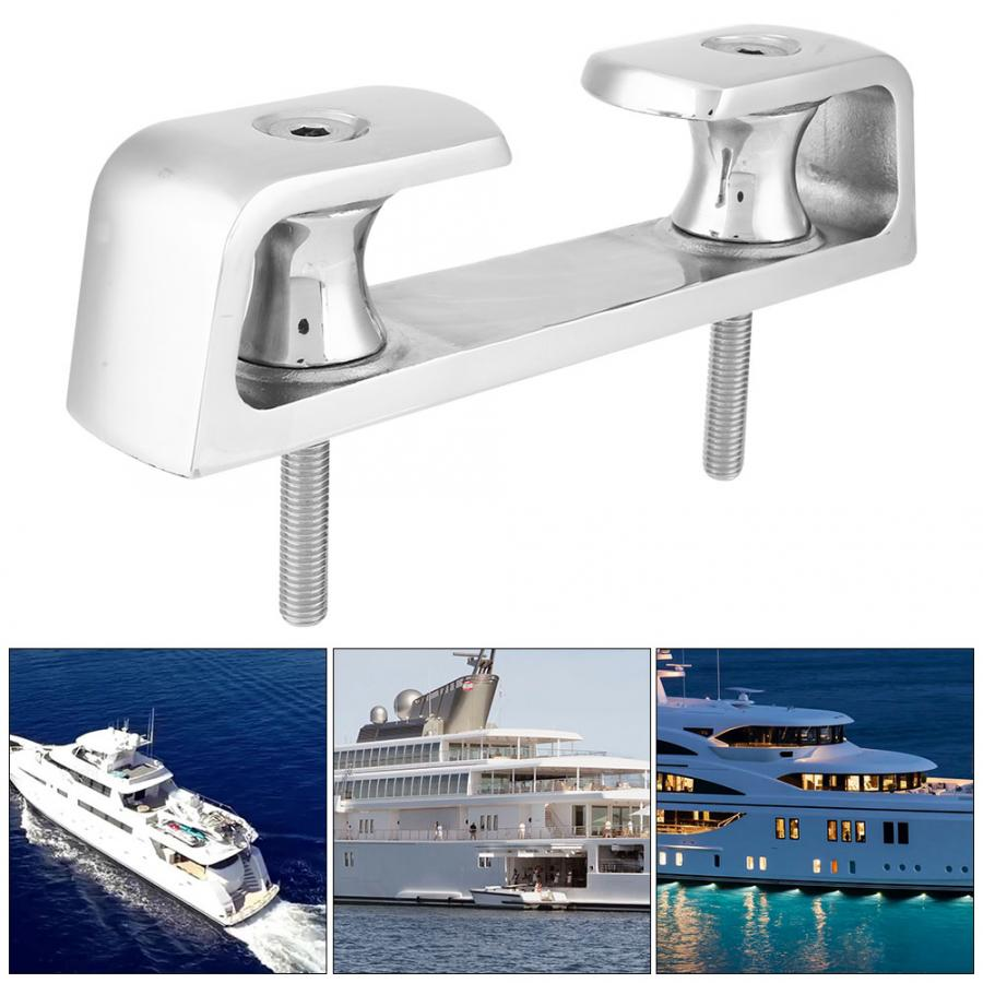 Universal Pull Up Cleat Deck Hidden Flush Mount 316 Stainless Steel for Boat Cleat Marine Ship Yacht 8 inch / 10 inchUniversal Pull Up Cleat Deck Hidden Flush Mount 316 Stainless Steel for Boat Cleat Marine Ship Yacht 8 inch / 10 inch