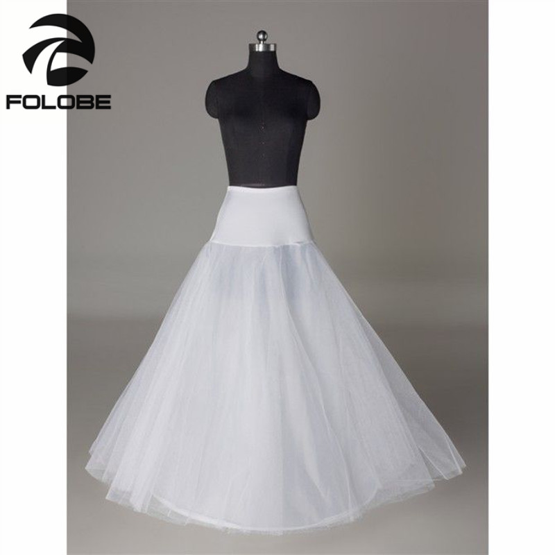 Aliexpress Buy In Stock White Bridal Accessories Bride Wedding Dress One Hoop A Line