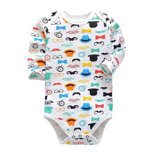 2019New Baby girl Clothes O-neck daughter Vestido Infantil Newborn Girl Long Sleeve Bodysuits