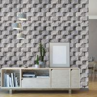 Modern 3d Stone Wallpaper Stickers Fashion Living Room Rocks Wall Paper Self Adhesive PVC Wallpapers Roll Room Decoration ZE111