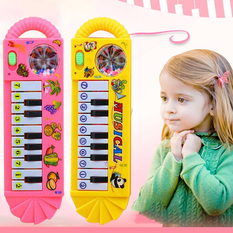 Baby Infant Toddler Developmental Toy Plastic Kids Musical Piano Early Educational Toy Instrument Gift -17 BM88