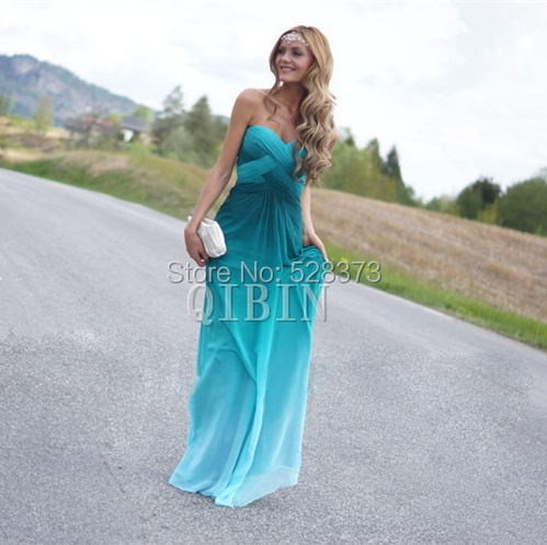 YNQNFS PD75 Real Pictures Sweetheart Pleated Cross Back Colorful   Dress   2018 New Arrival Prom   Bridesmaid     Dresses   Party   Dress