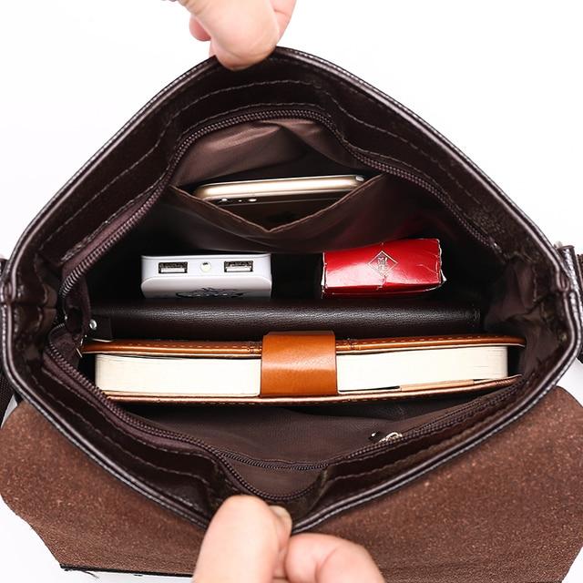 New collection 2015 fashion men bags, men casual leather messenger bag, high quality man brand business bag men's handbag