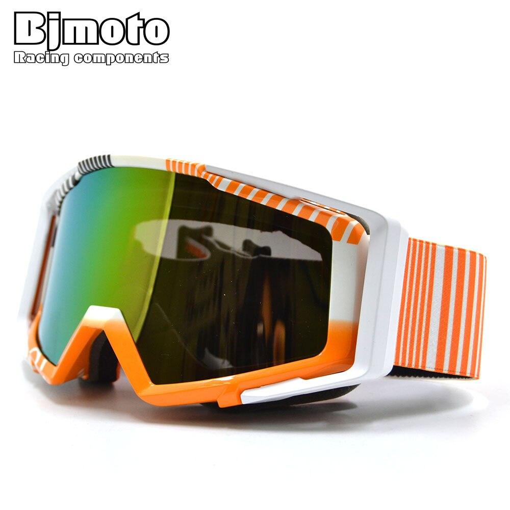 BJMOTO Motocross Helmet Goggles Gafas Dirtbike Motorcycle Helmets Goggle Glasses Skiing Skating Eyewear
