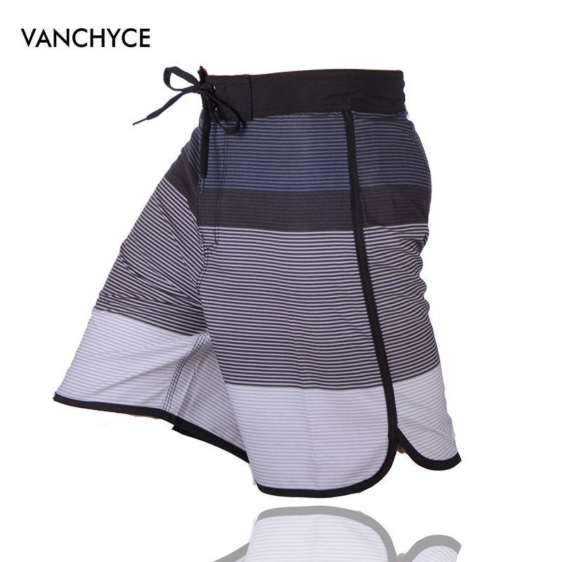 VANCHYCE Summer Shorts Men Beach Shorts Men Bermuda Short Quick Dry Silver Mens Boardshorts Board Shorts Brand Swimwear Men