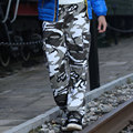 2017 Más Tamaño Suelta Basculador Pantalones Casual Pantalones de ejercicio de NewMen Pantalones Ocasionales Flojos Pantalones de Camuflaje Pantalones Trajes
