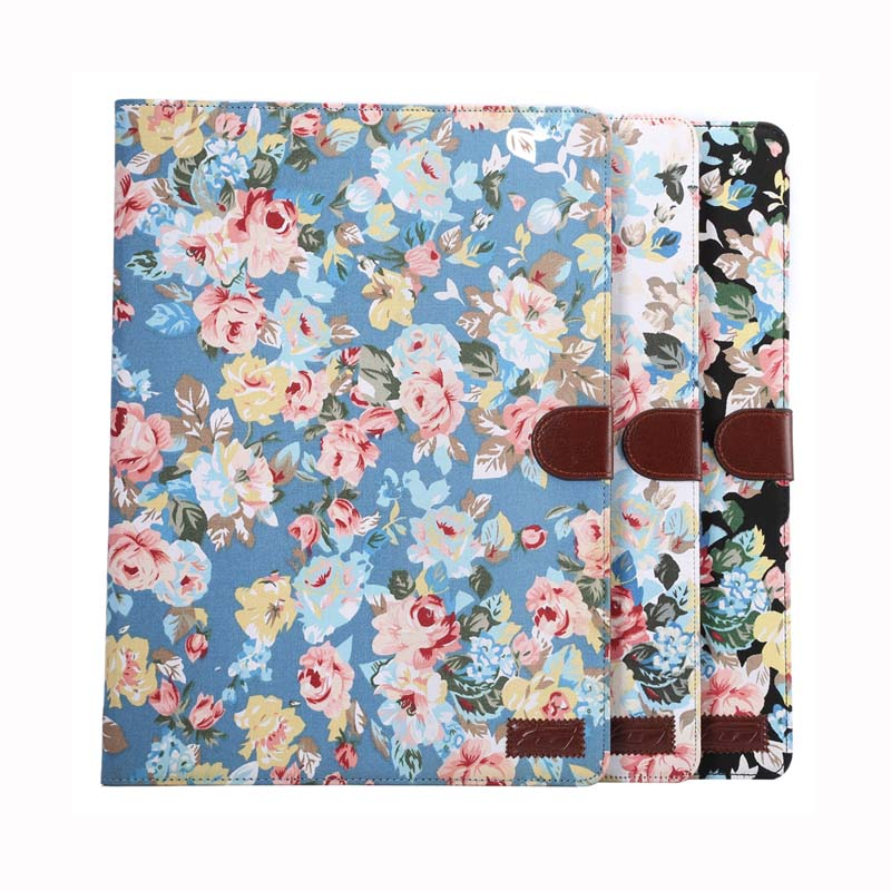 Luxury Cute Print Wallet Pattern Flip Stand Protective PU Leather Business Book Cover Case For Apple Ipad Pro 12.9 inch Tablet for apple ipad pro 12 9 inch pu leather stand cover flip back case luxury business style smart tablet cover for ipad pro