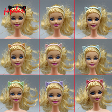 1PCS Doll Accessories mini colourful Cat ear hair band for 1 6 doll dolls as for