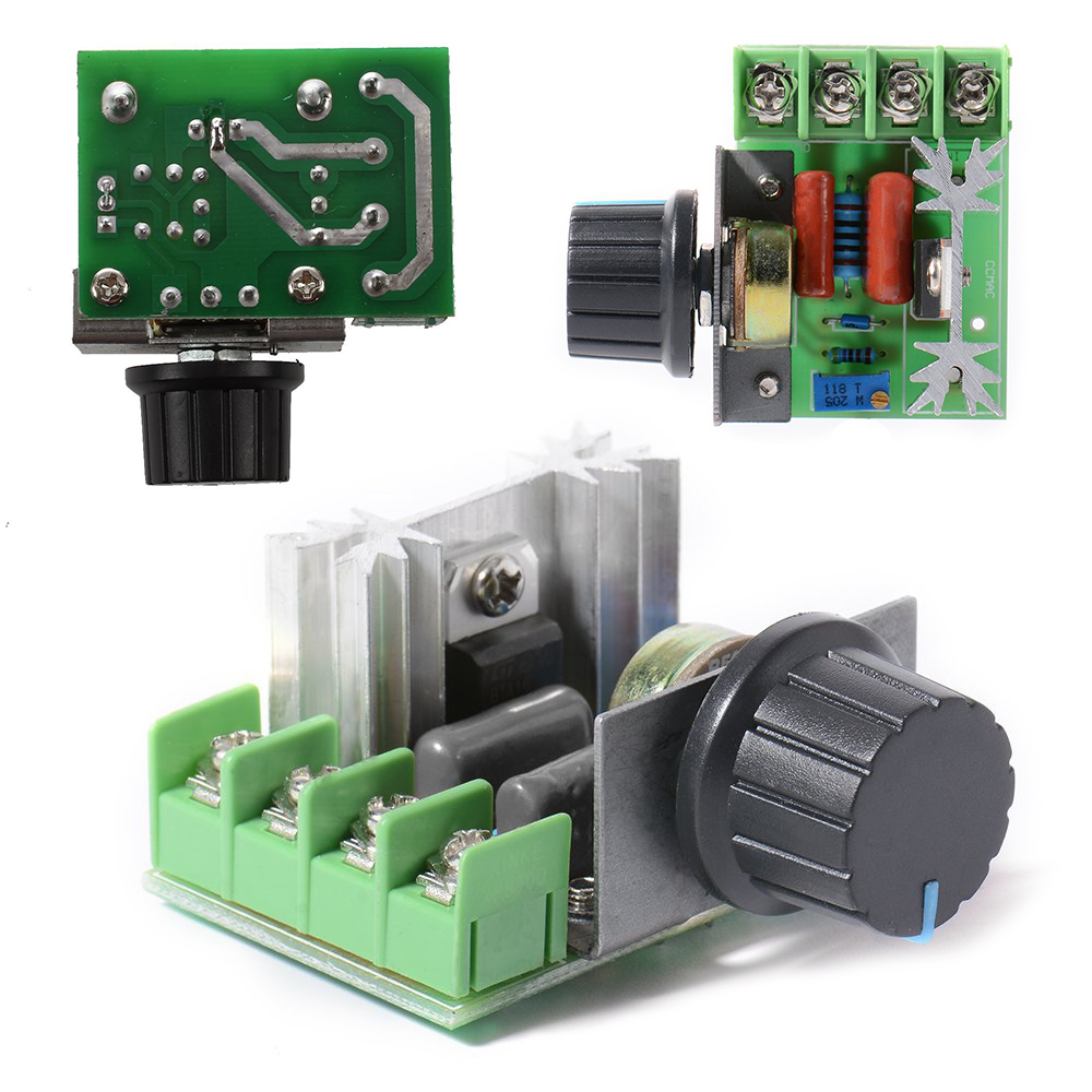 High Power Electronic Voltage Thyristor Dimmer Scr Alarm Driver Circuit Design Regulator 2000w 220v For Temperature Control In Ac Dc Adapters From Consumer Electronics