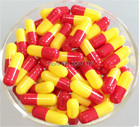 0# Capsules 1000pcs Red+Yellow Empty Hard Gelatin Capsules sizes 0 (Closed or Seperated Capsules available )