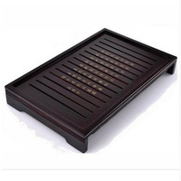 Hot Sale Kung Fu Tea Set Natural Solid Wooden Tea Tray Rectangular Wood Traditional Puer Tea Tray Big Size