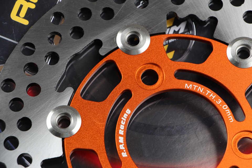 RPMเส้นผ่านศูนย์กลางภายนอก 200 มม.220 มม.260 มม.3 Type 1Pcsอลูมิเนียมอัลลอยด์ลอยดิสก์รถจักรยานยนต์เบรคแผ่นดิสก์เบรคหลัง