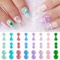 Lírio anjo 5 pcs Tamanho Mix Top Qualidade Beleza Natural Opala pedrinhas 3D Nail Art Decoração Charme Geléia Jóia DIY Bead jóias