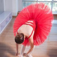 Female Ballet Skirt Uniforms Professional Platter Tutu Black White Red Ballet Dance Costume For Women Tutu