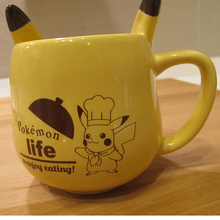 Mug Anime Game Pokemon Pocket Monsters Pikachu Milk Mugs Ceramic Coffee Cup Espresso Cups