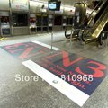 floor vinyl sticker, advertising stickers, vinyl self-adhesive sticker, self adhesive paper