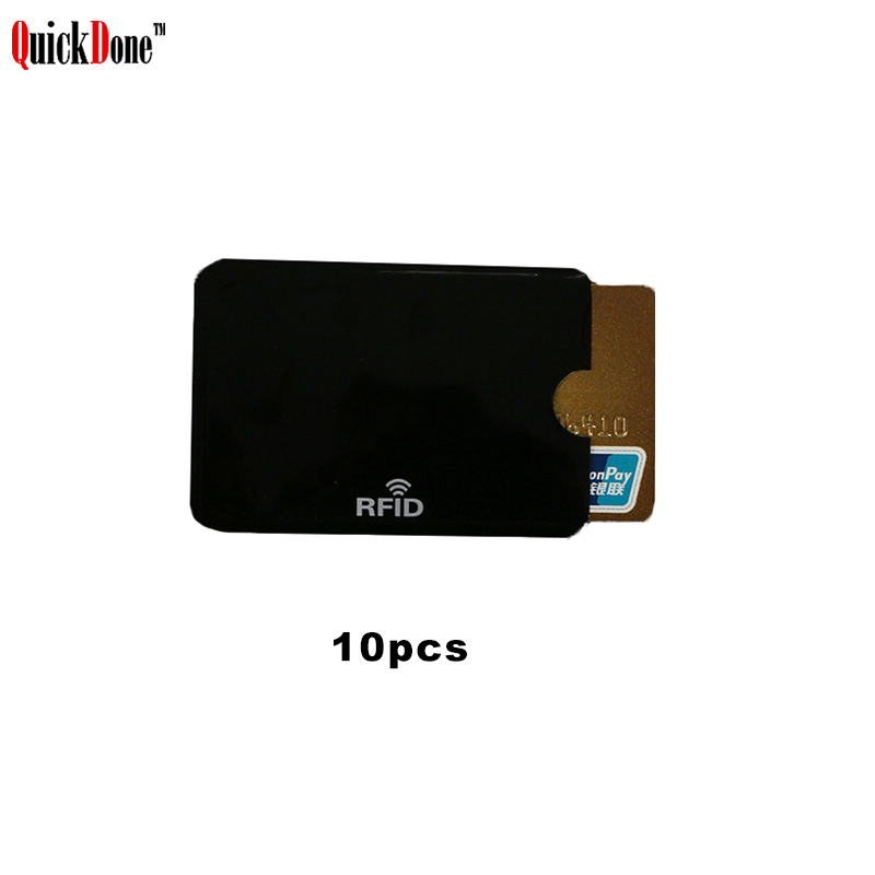 Card Pouch Case-Protection Shielding-Cards Anti-Scan Rfid Blocking NFC Quickdone 5-Colors