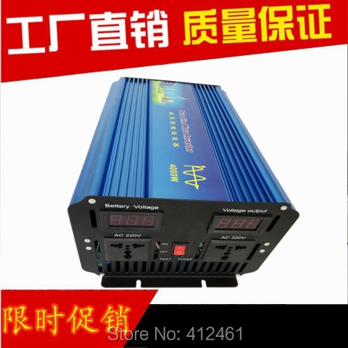 цена на Doubel digital display 8000W Peak DHL FedEx Fast Shipping off grid inverter 4000W pure inverter pure sine wave inverter 4KW