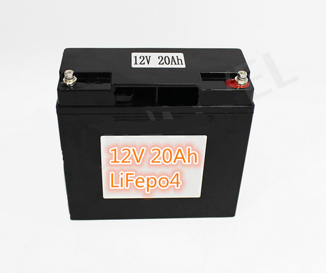 1pcs OEM Rechargeable LiFePo4 12V 20Ah battery for UPS golf trolley Solar  Street Light electric bike solar power Escooter-in Battery Packs from