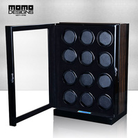 Excellent 12 Automatic Watch Winder Box with JAPAN MABUCHI motor machine storage box LCD touch screen control High end quality
