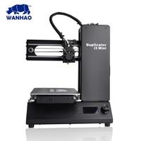 China factory wanhao I3 mini Open Source 3D Printer cheapest price nozzle 3D printer Break Resuming Capability Mini 3d printers