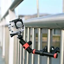 Multi Function Adjustable Bracket Hand Grip Extension Arm Action Camera Mount for Xiaomi Yi Gopro Hero SJCAM SJ4000 SJ5000 GP383