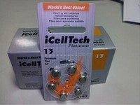 60 PCS NEW Zinc Air 1.4V Hearing Aid Batteries A13 13A 13 P13 PR48 Hearing Aid Battery For hearing aids